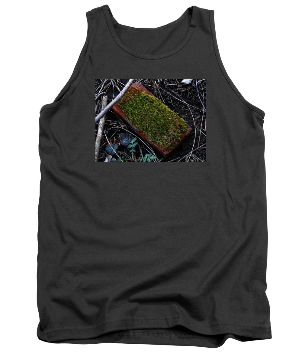 Photography Tank Top featuring the digital art Red Brick by Jeff Iverson