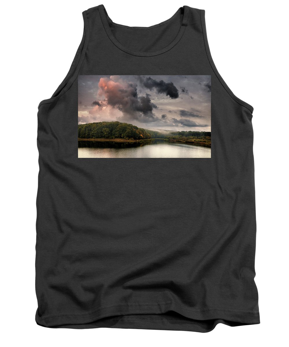 Autumn Tank Top featuring the photograph Red Cloud by Socaciu Marcel