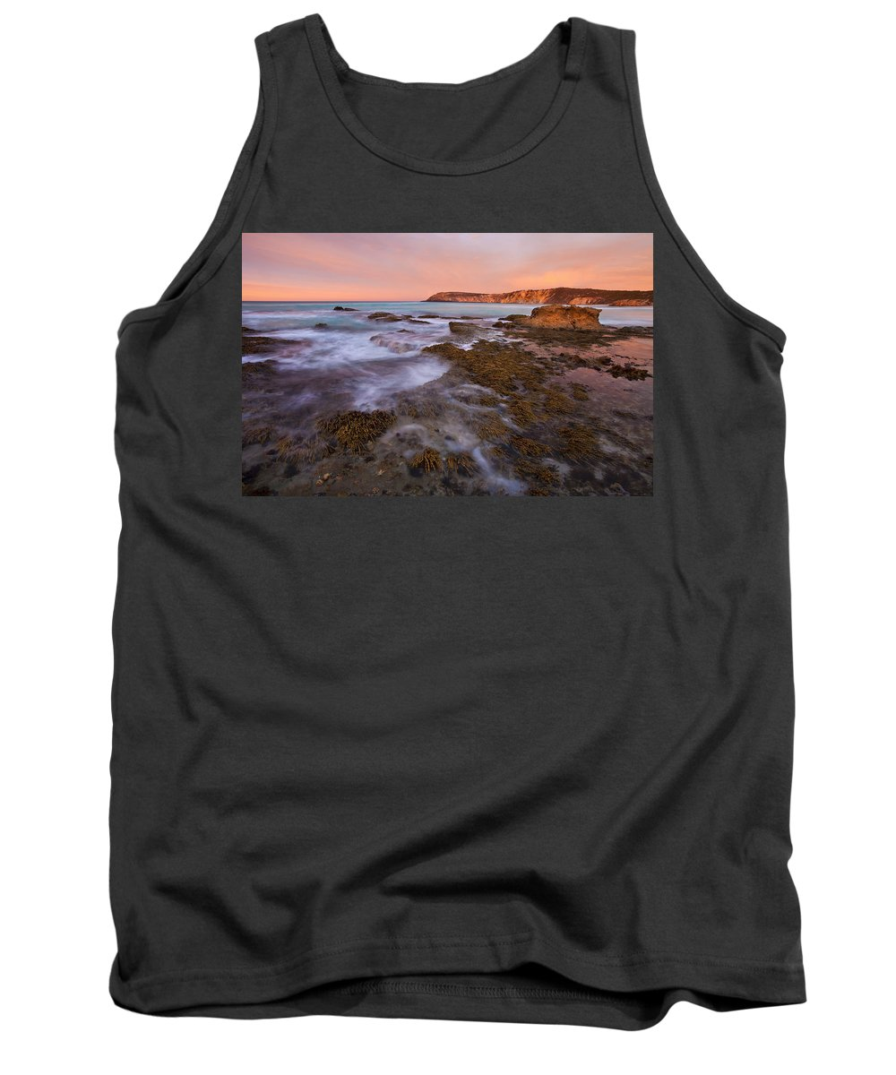 Sunrise Tank Top featuring the photograph Red Dawning by Mike Dawson