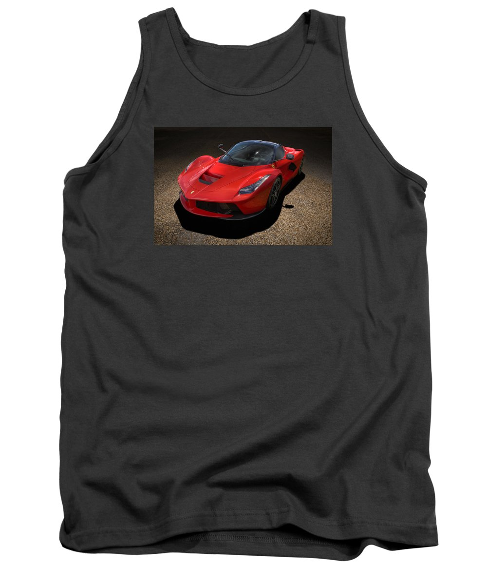 Automotive Tank Top featuring the photograph Red Devil by Andy Flood