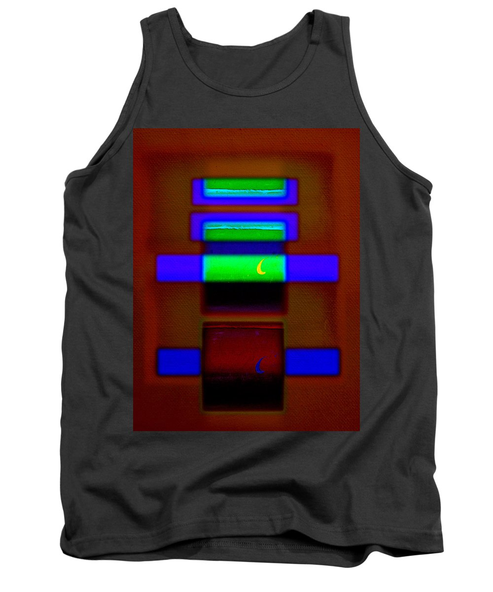Rothko Tank Top featuring the painting Red Sea by Charles Stuart