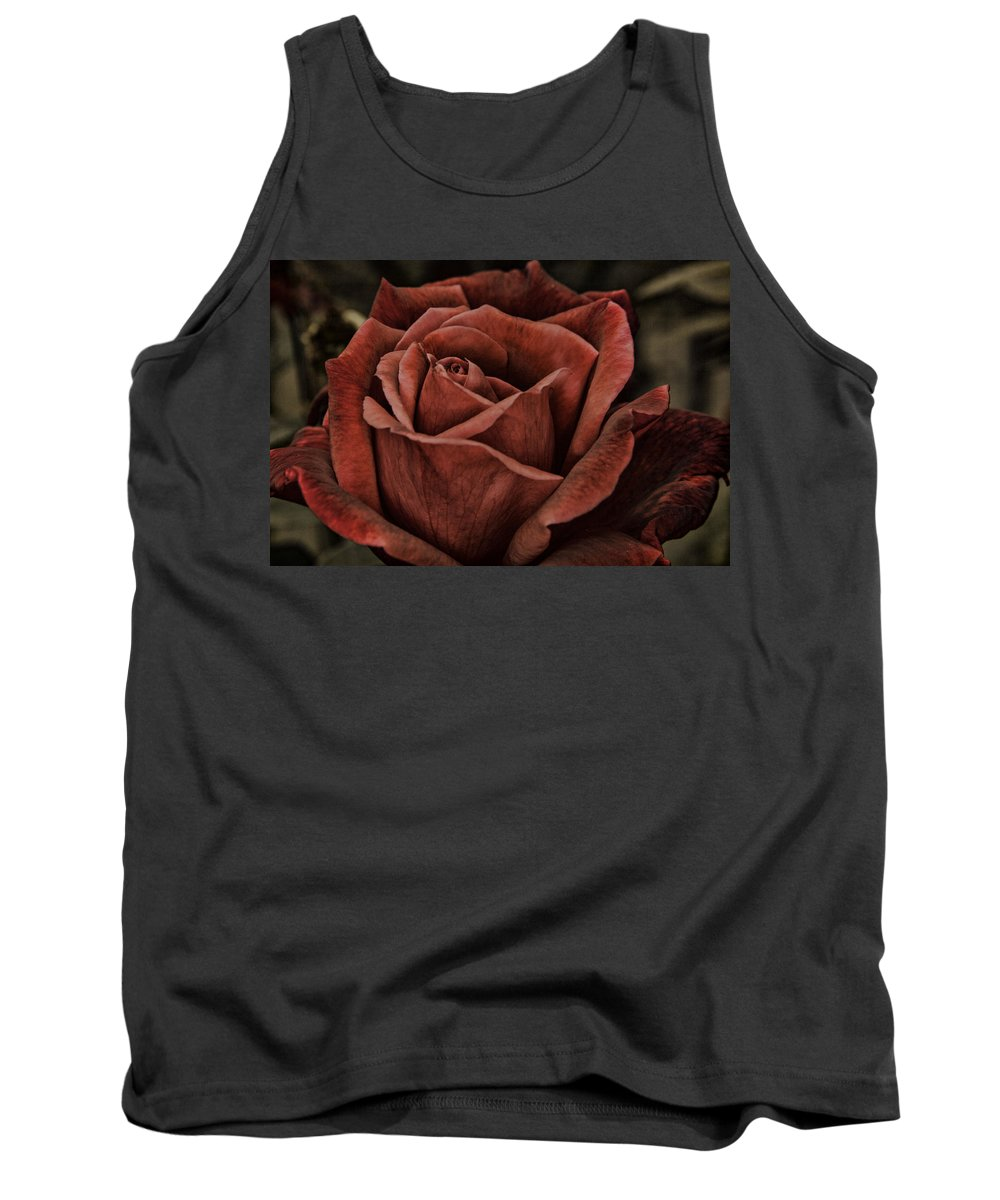 Anniversary Tank Top featuring the photograph Red Velvet by Pete Federico