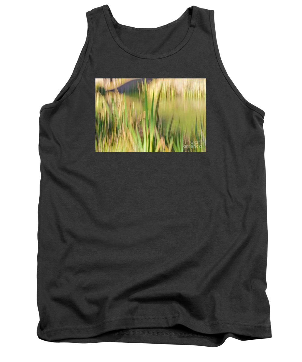 Golden Gate Park Tank Top featuring the photograph Reed Abstract II by Kate Brown