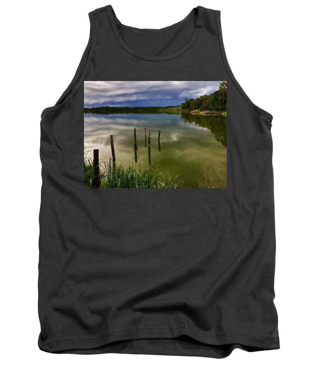 Landscape Tank Top featuring the photograph Reflecting by Joseph Bruno Pelle