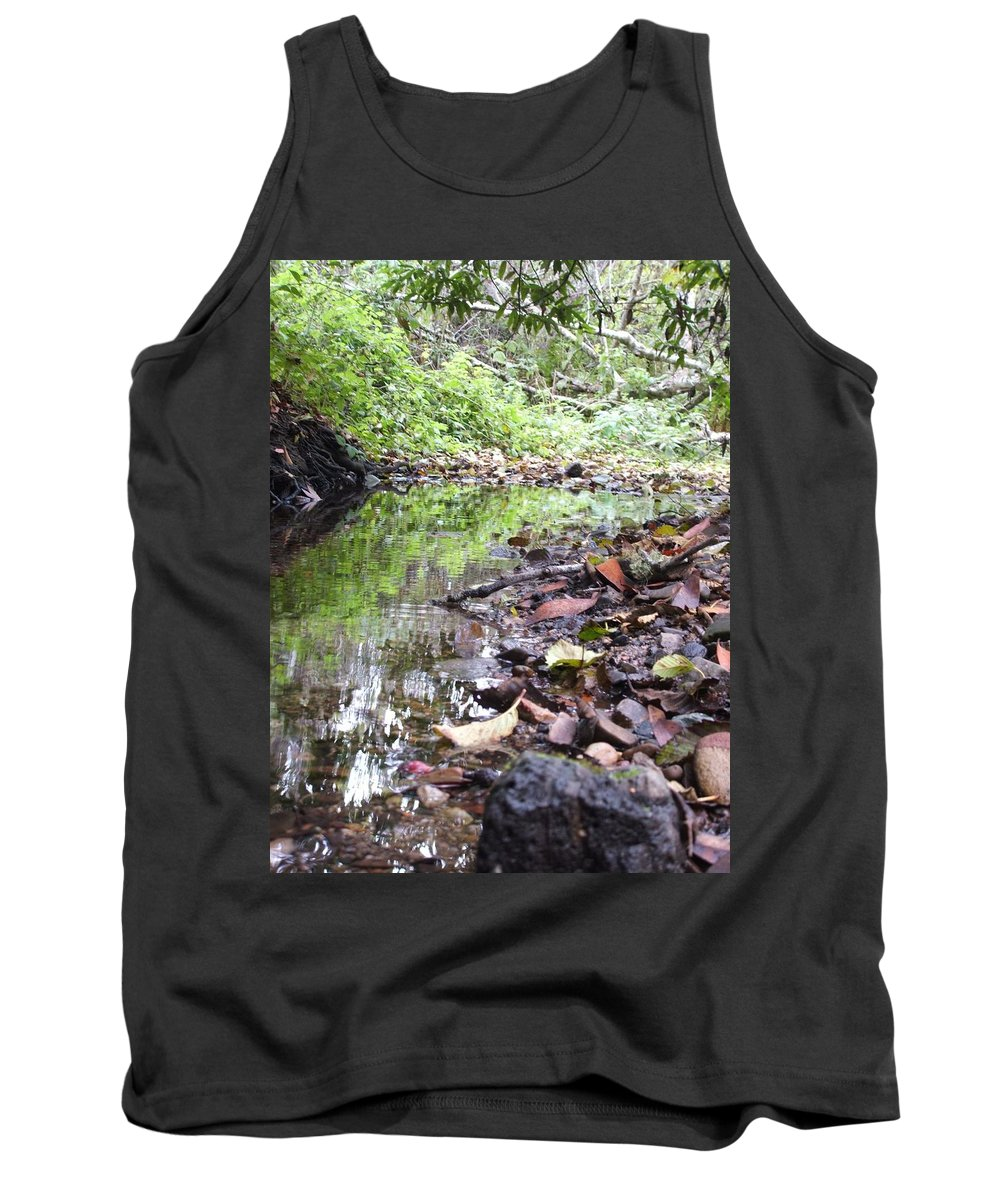 Woods Tank Top featuring the photograph Reflection by Shari Chavira