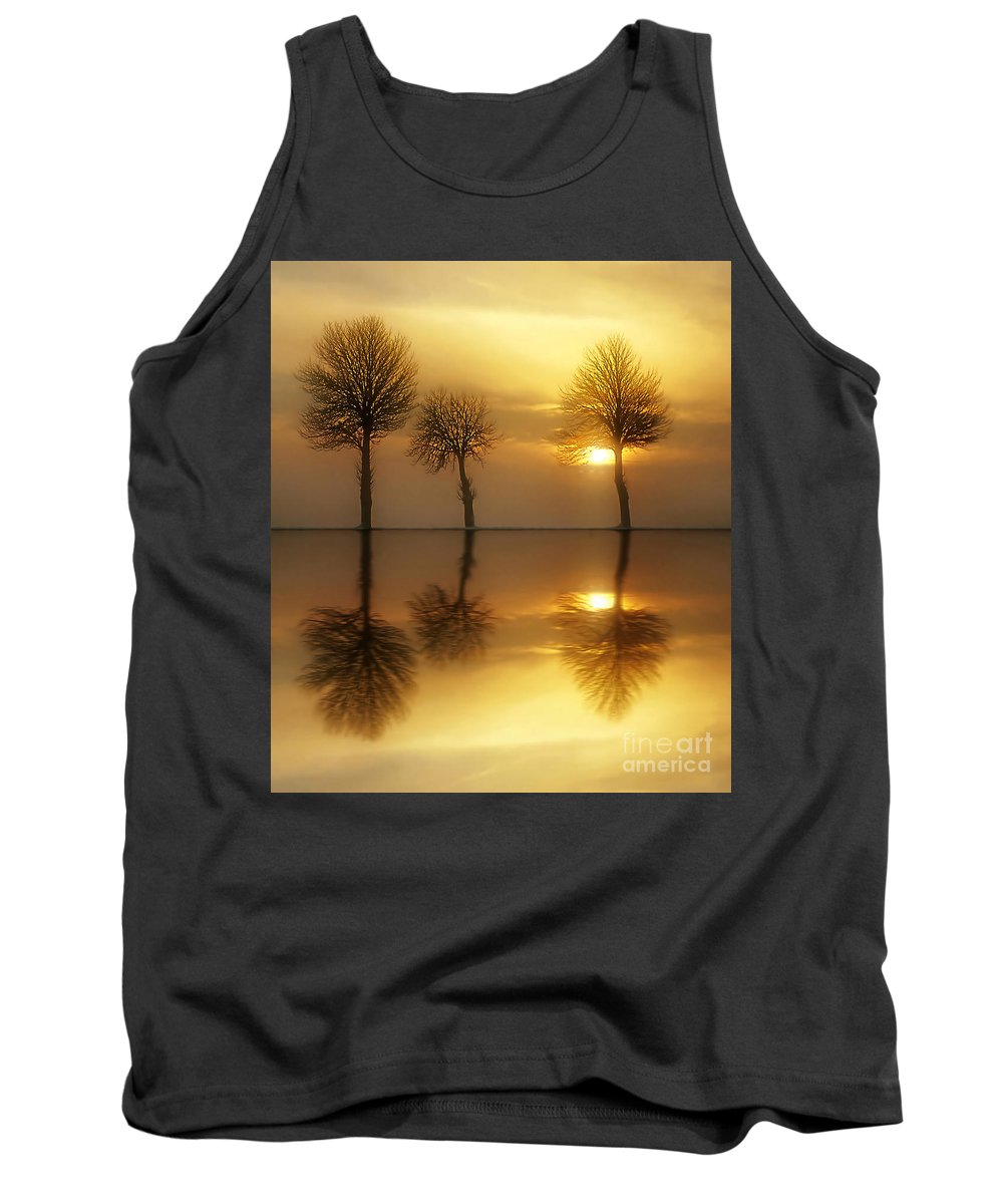 Sunset Tank Top featuring the photograph Remains Of The Day by Jacky Gerritsen