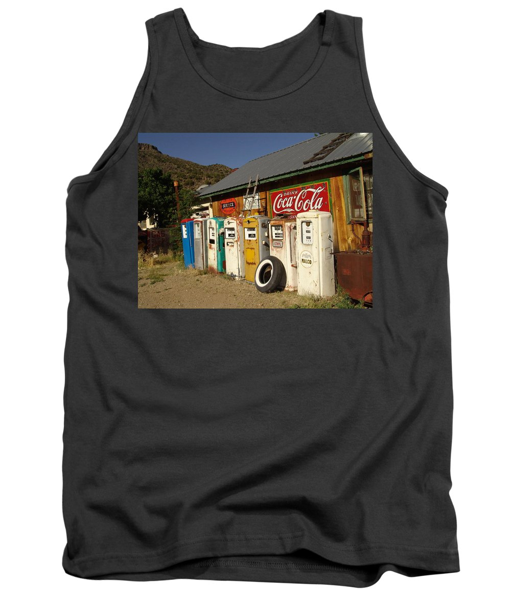 Auto Tank Top featuring the photograph Remember When by Carol Milisen