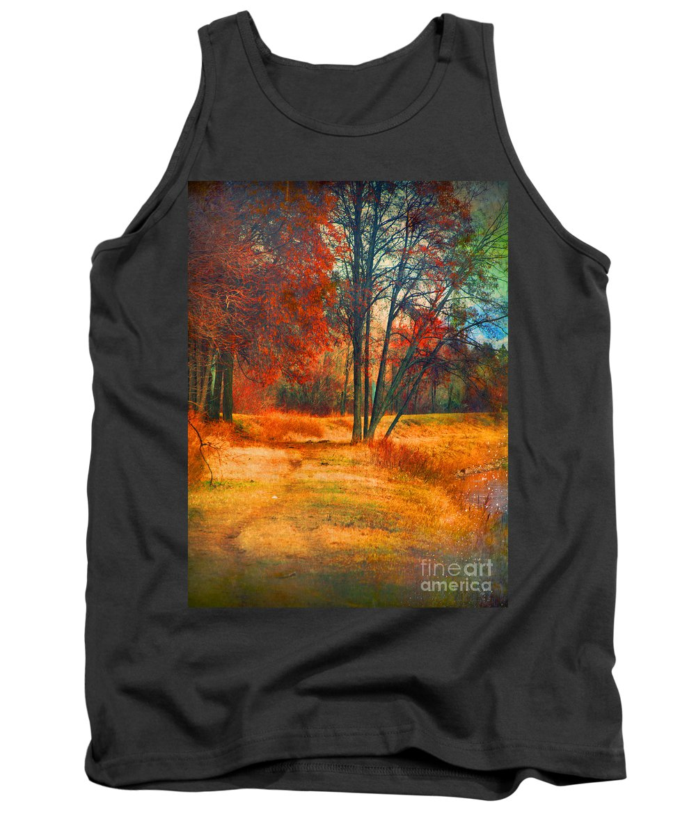 Trees Tank Top featuring the photograph Remembering The Places I Have Been by Tara Turner