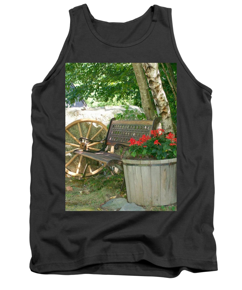 Photography Tank Top featuring the photograph Resting Place by Barbara S Nickerson