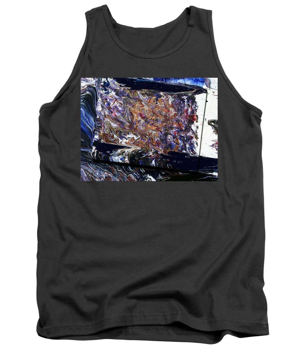 Fusionart Tank Top featuring the painting Revolution by Ralph White