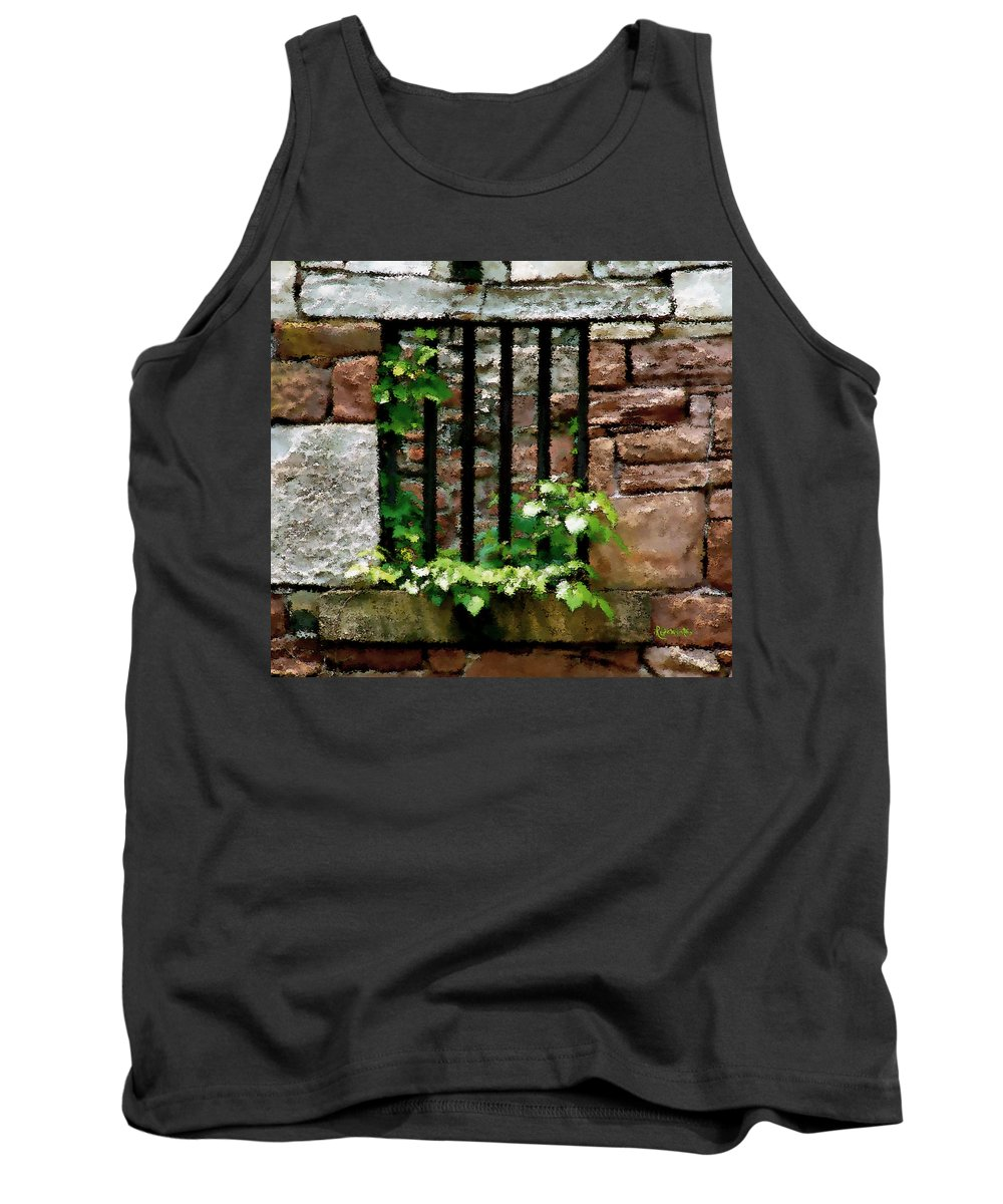 American History Tank Top featuring the digital art Rhus Radicans Triumphant by RC DeWinter