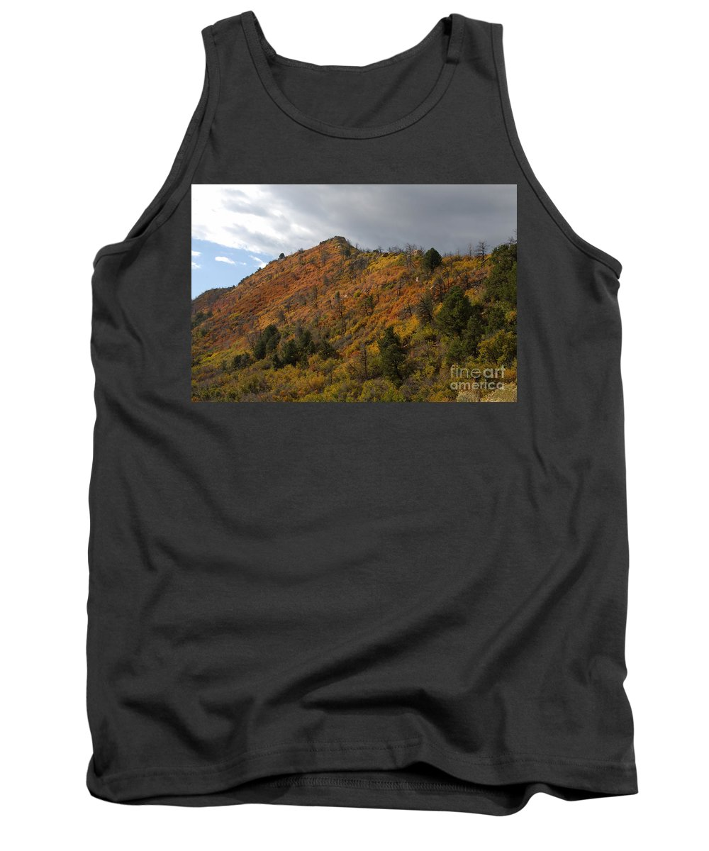 Landscape Tank Top featuring the photograph Ridge Line by David Lee Thompson