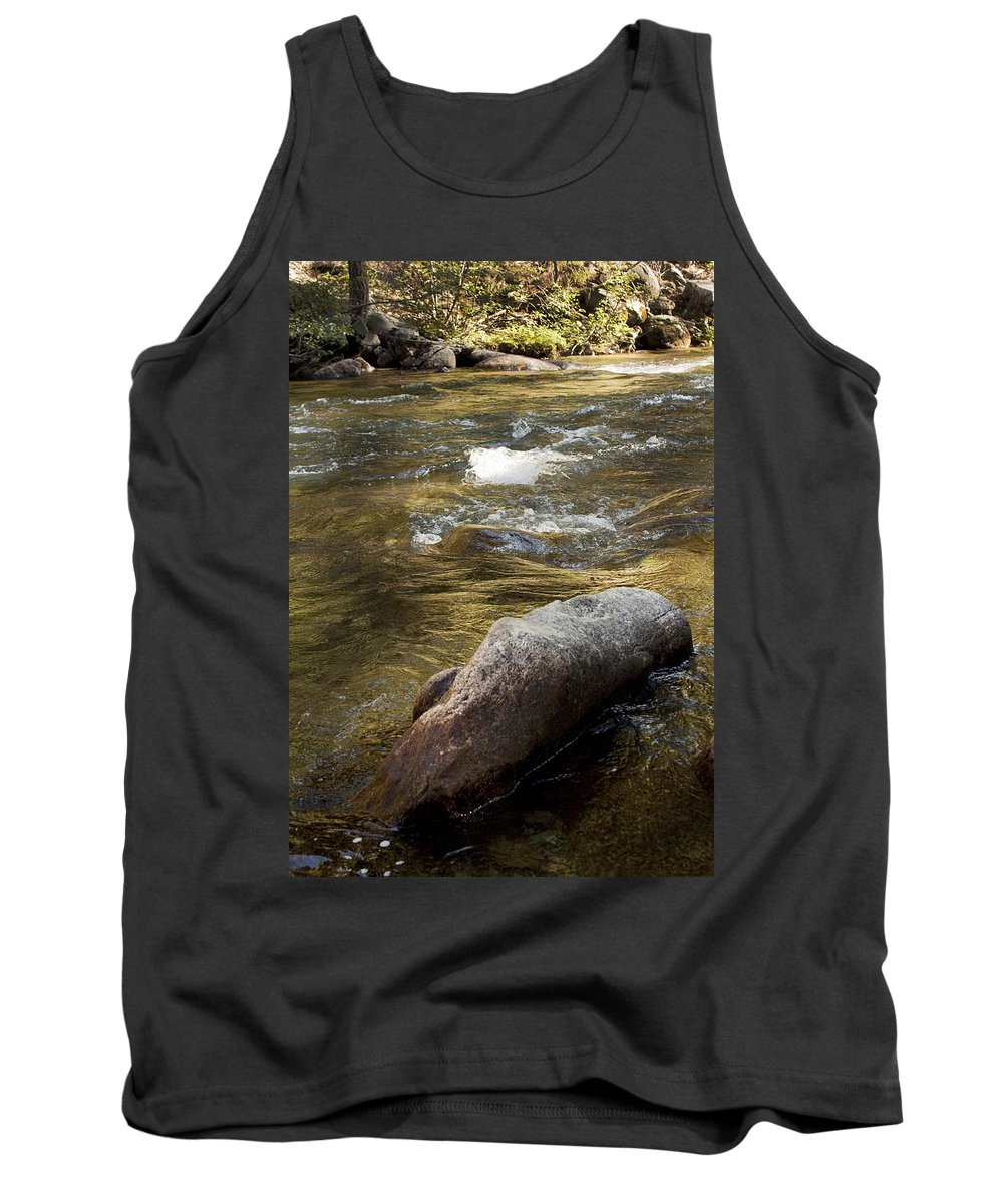 River Tank Top featuring the photograph River by Jessica Fong