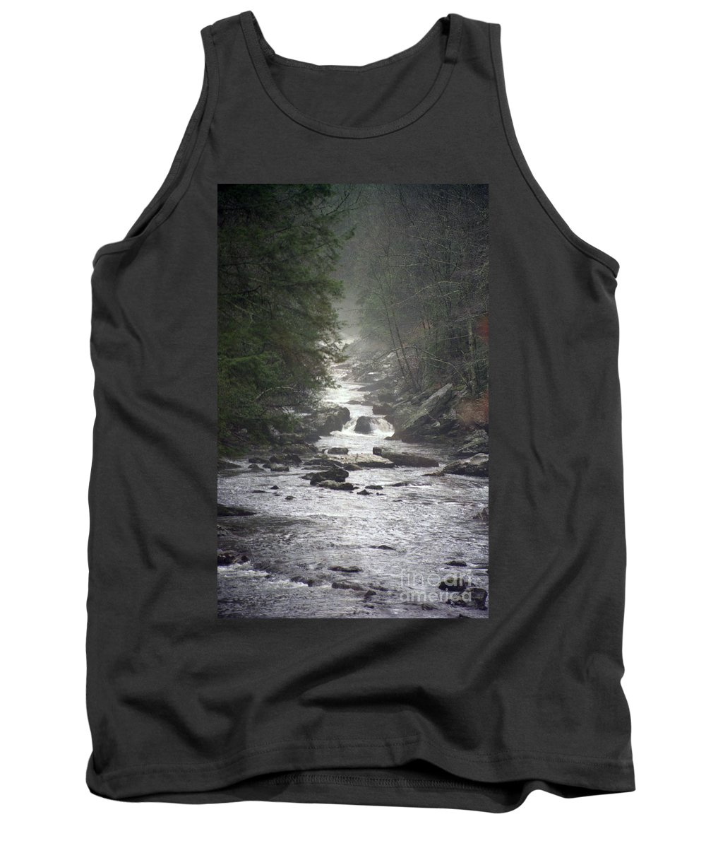 River Tank Top featuring the photograph River Run by Richard Rizzo
