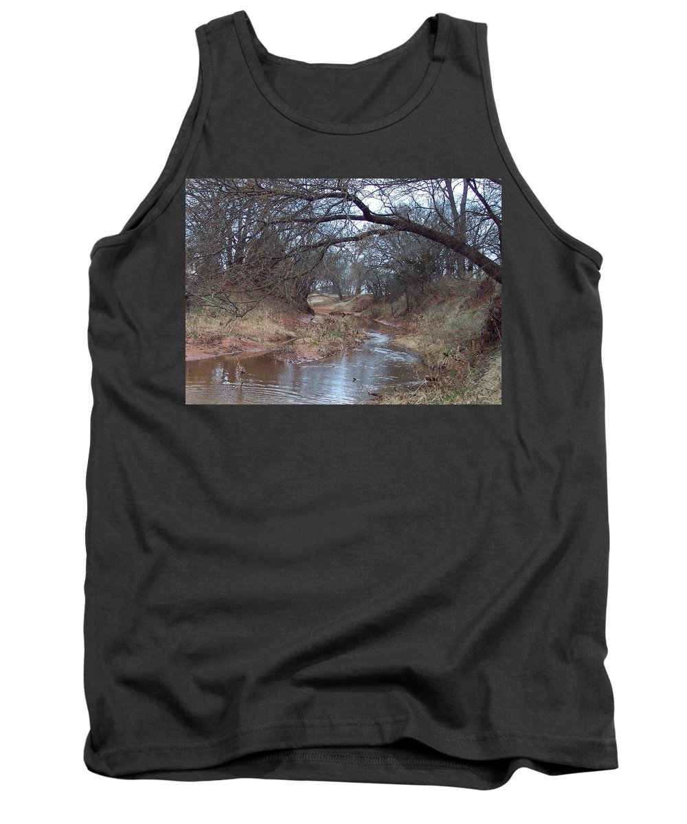 Landscapes Tank Top featuring the photograph Rivers Bend by Shari Chavira