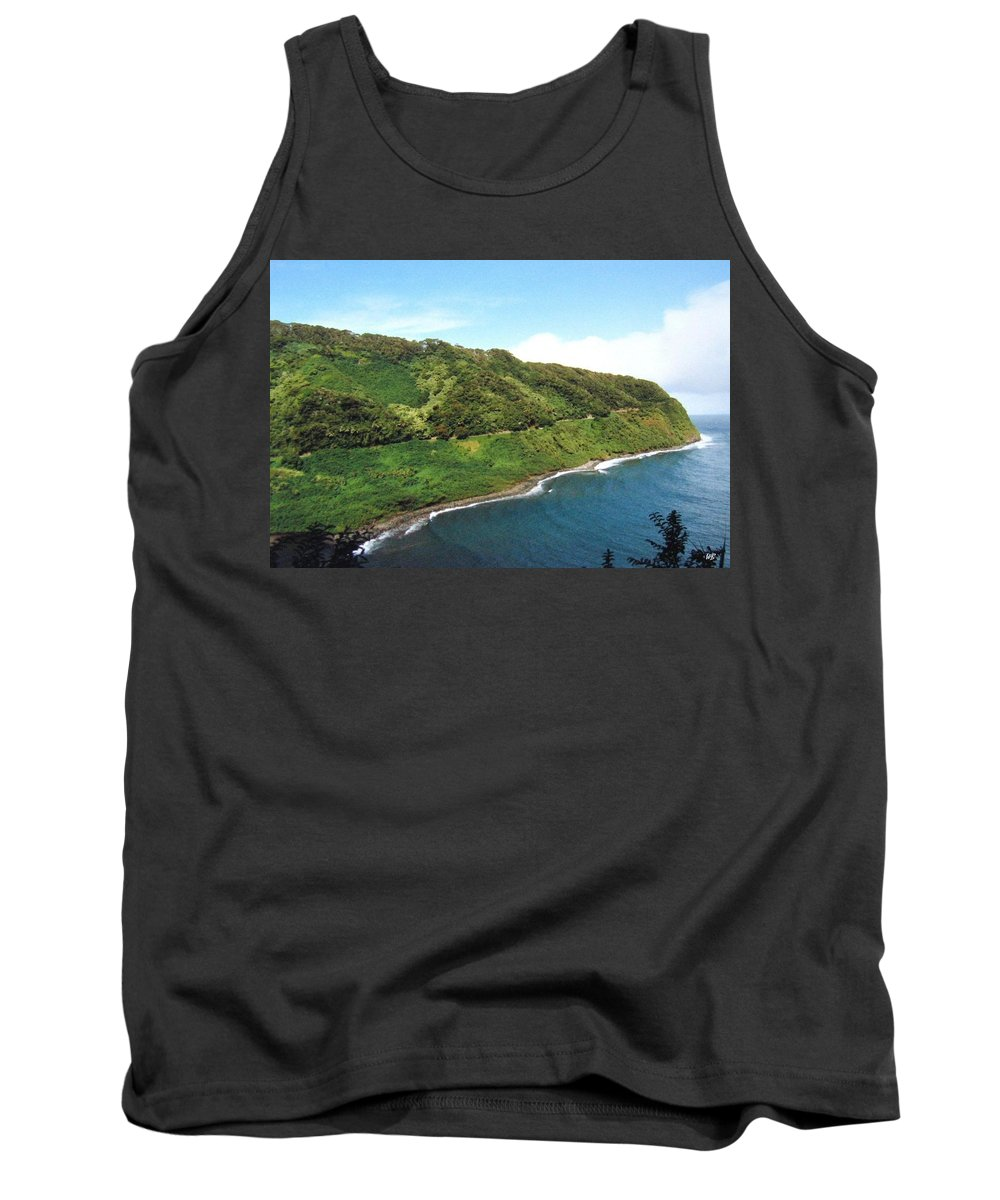 1986 Tank Top featuring the photograph Road To Hana by Will Borden