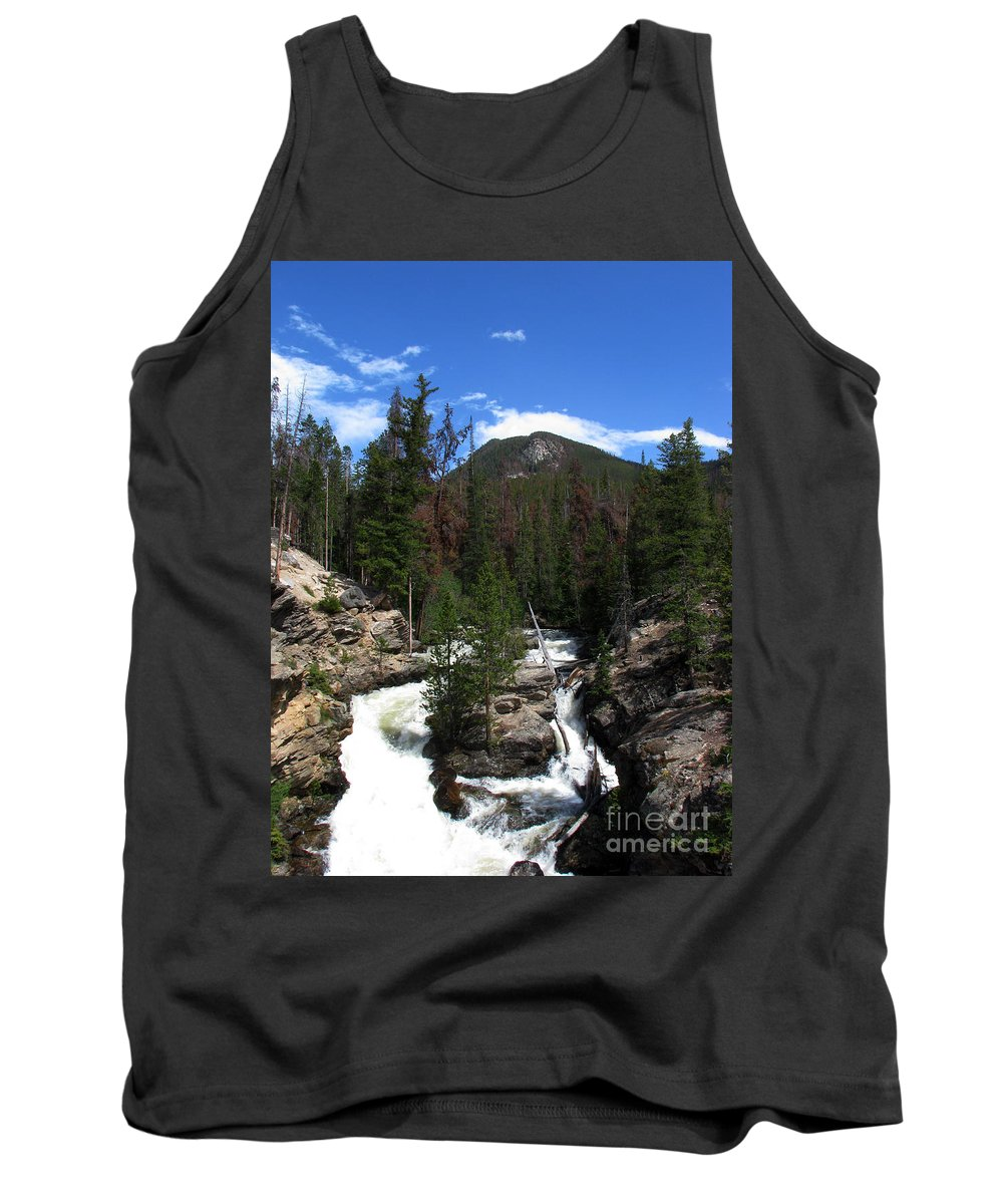 Colorado Tank Top featuring the photograph Roar by Amanda Barcon