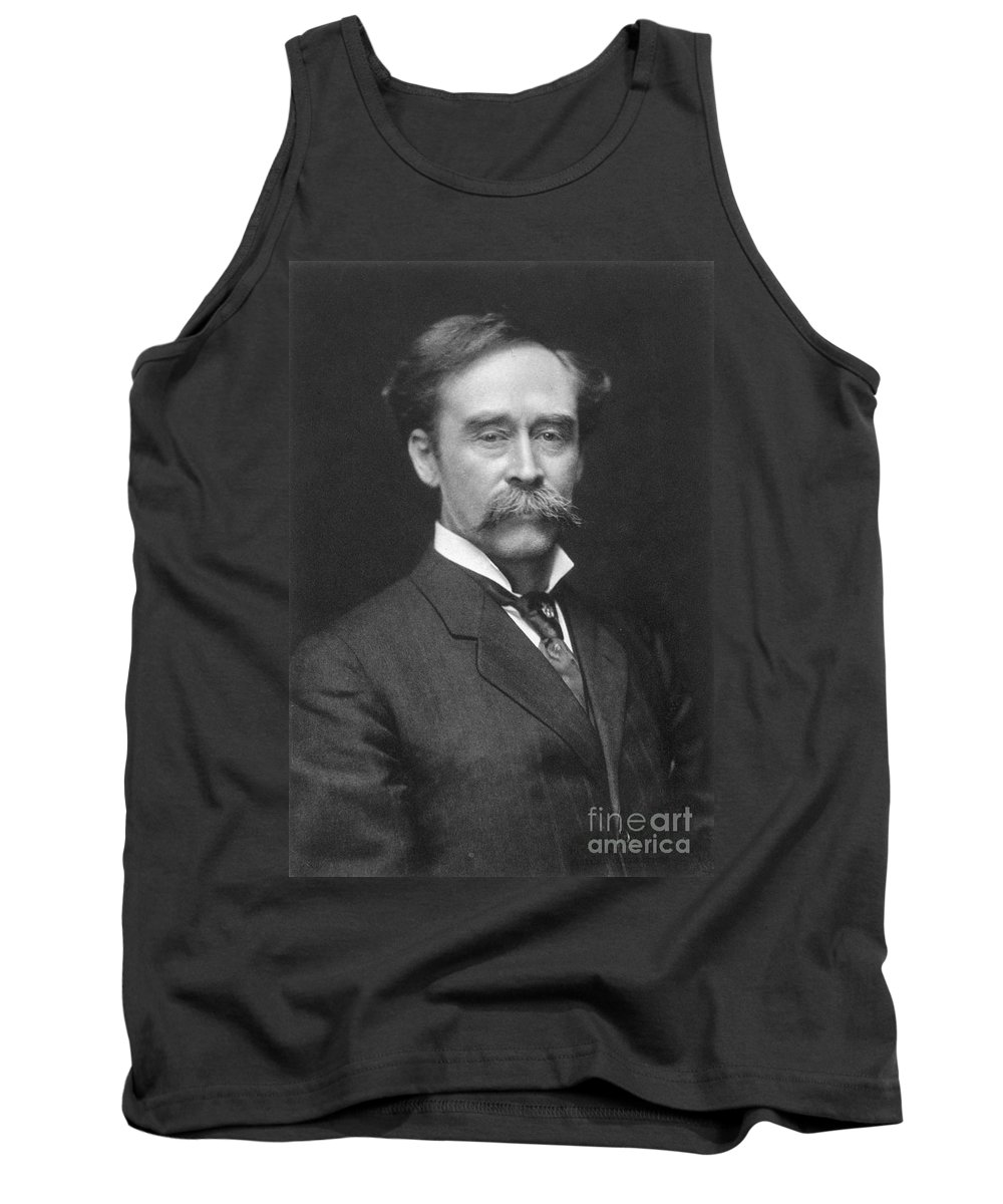 1910s Tank Top featuring the painting Robert Peary (1856-1920) by Granger
