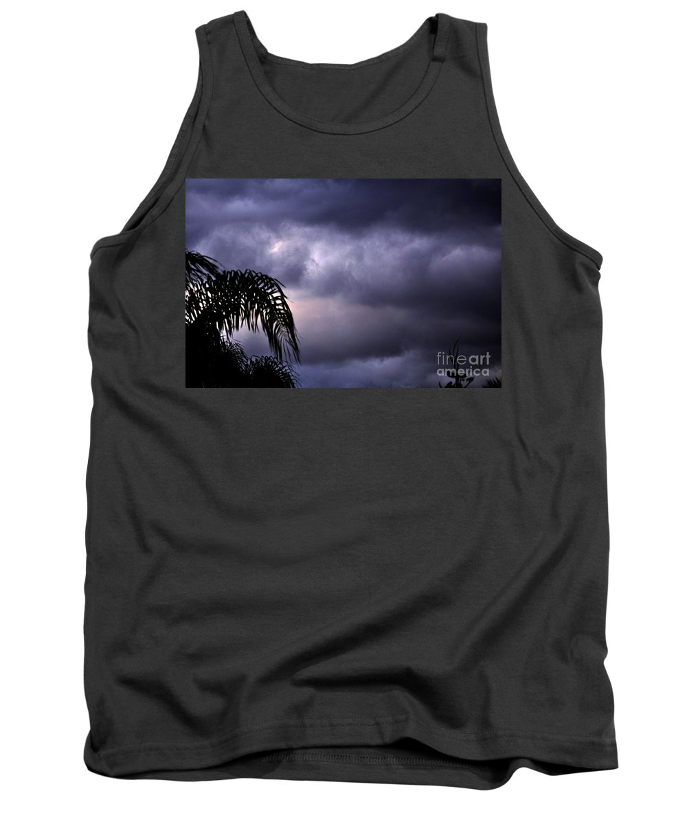 Clay Tank Top featuring the photograph Rolling In . . . by Clayton Bruster