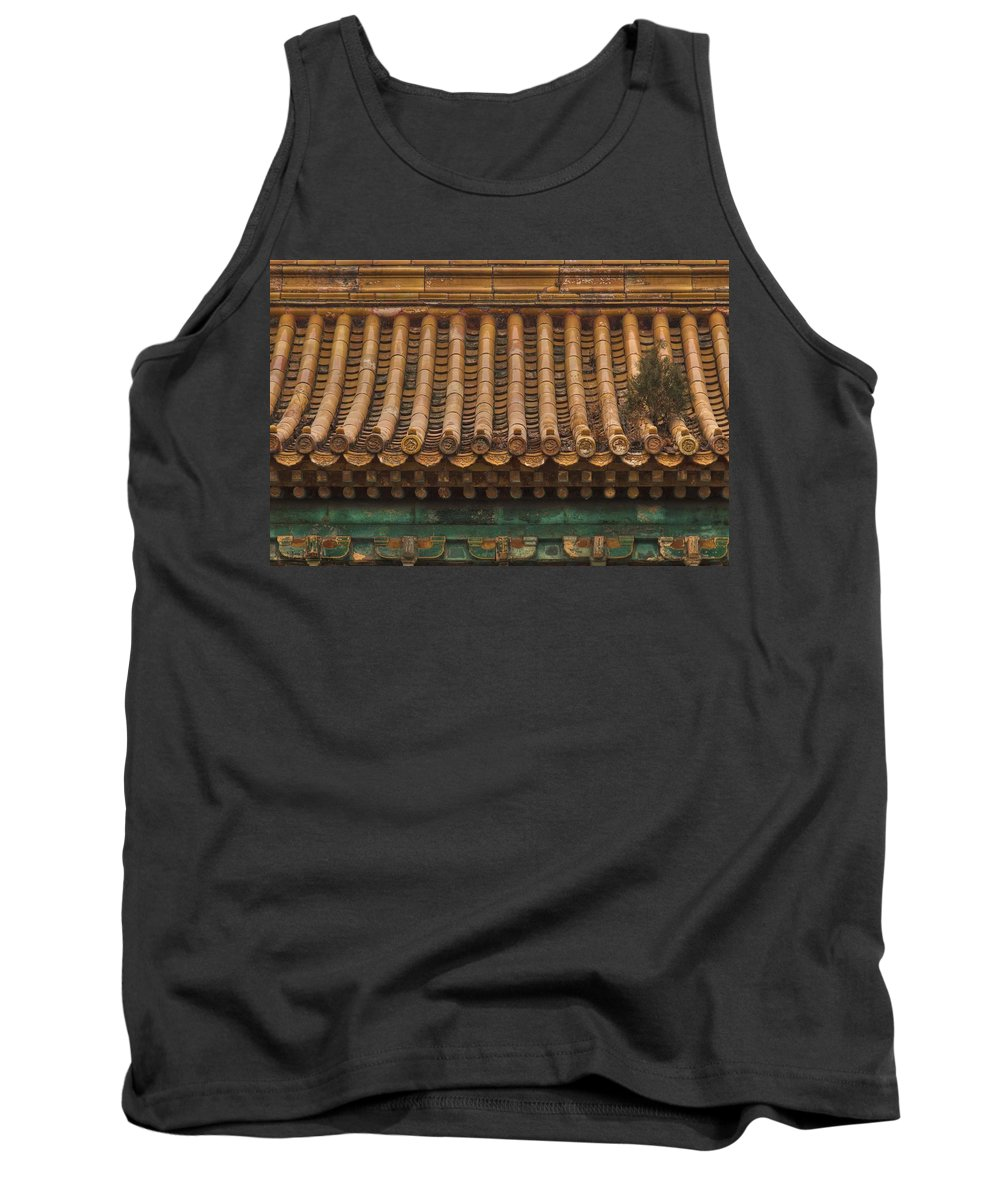 Roof Top Tank Top featuring the photograph Roof Top Garden by Hany J