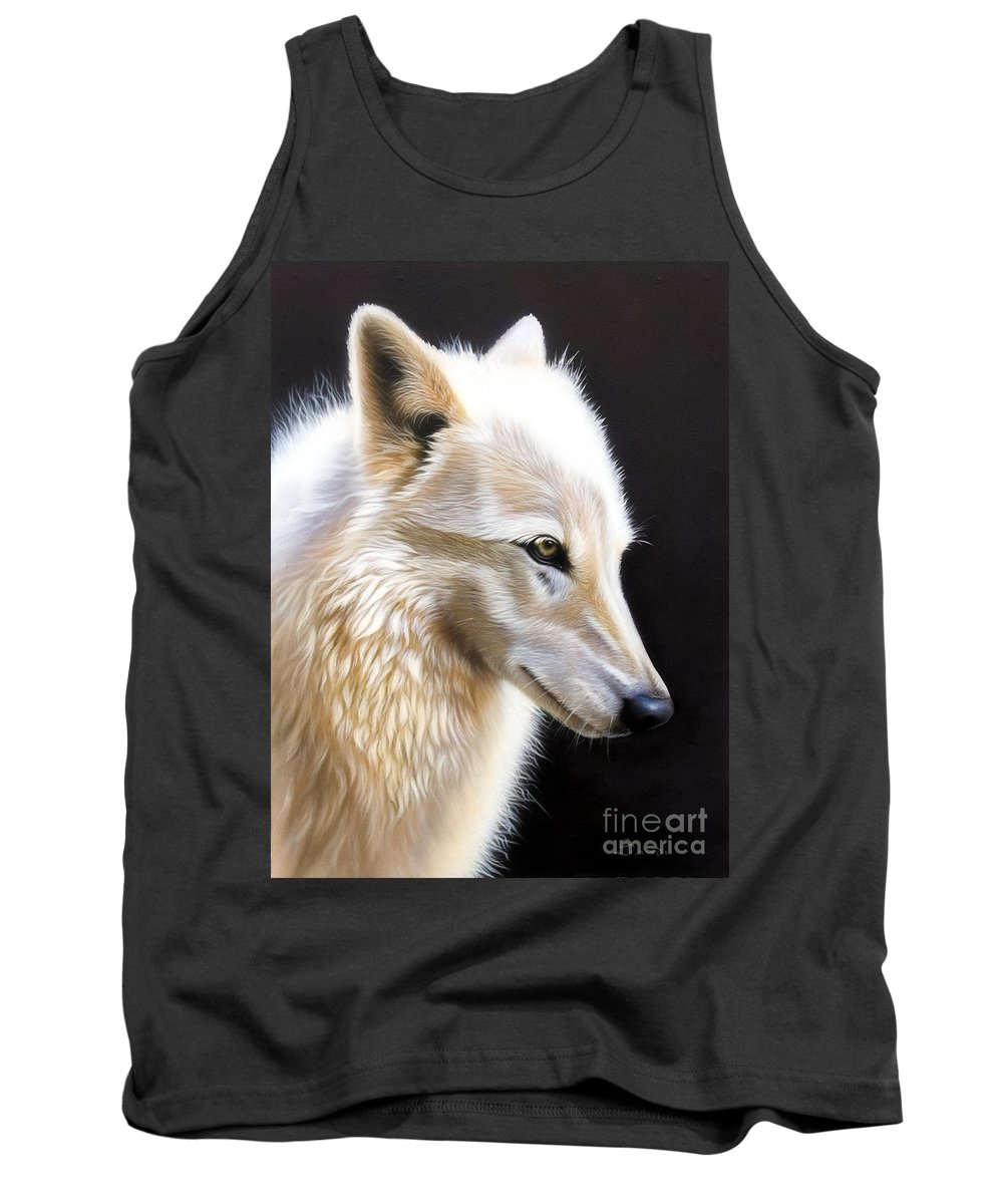 Acrylic Tank Top featuring the painting Rose IIi by Sandi Baker