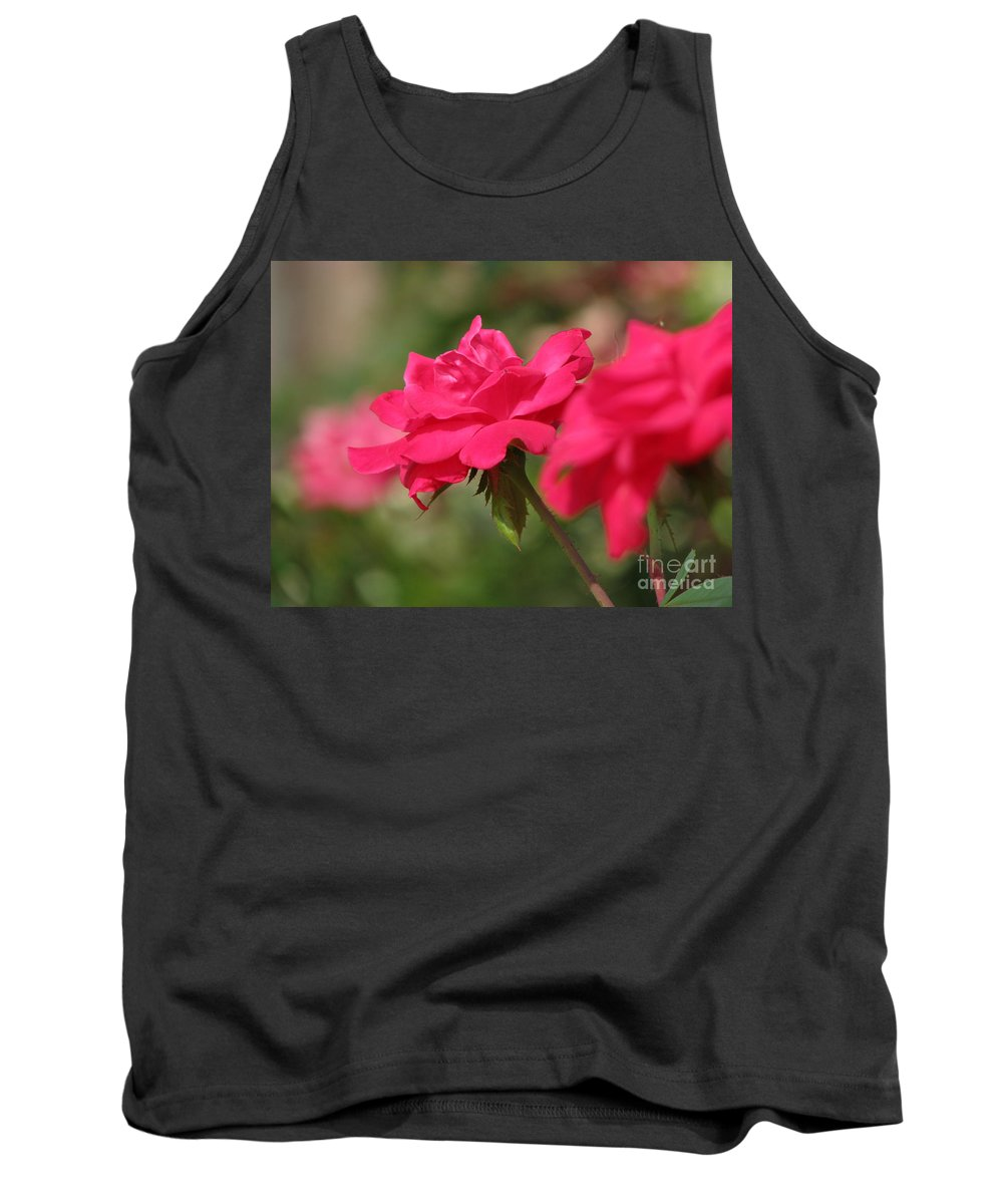 Rose Tank Top featuring the photograph Roses by Amanda Barcon