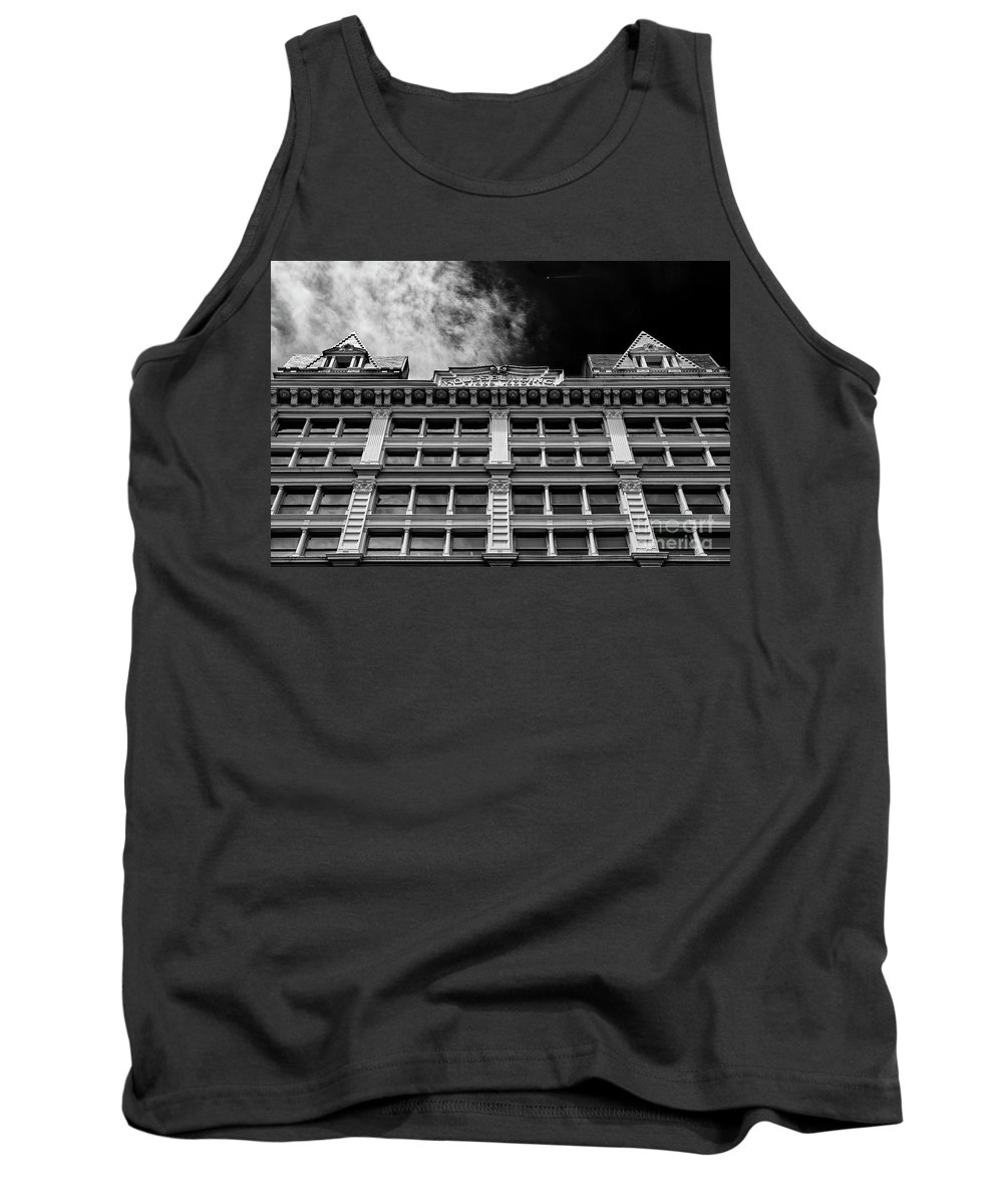 Symmetry Tank Top featuring the photograph Rouss Building, Soho New York by Edi Chen