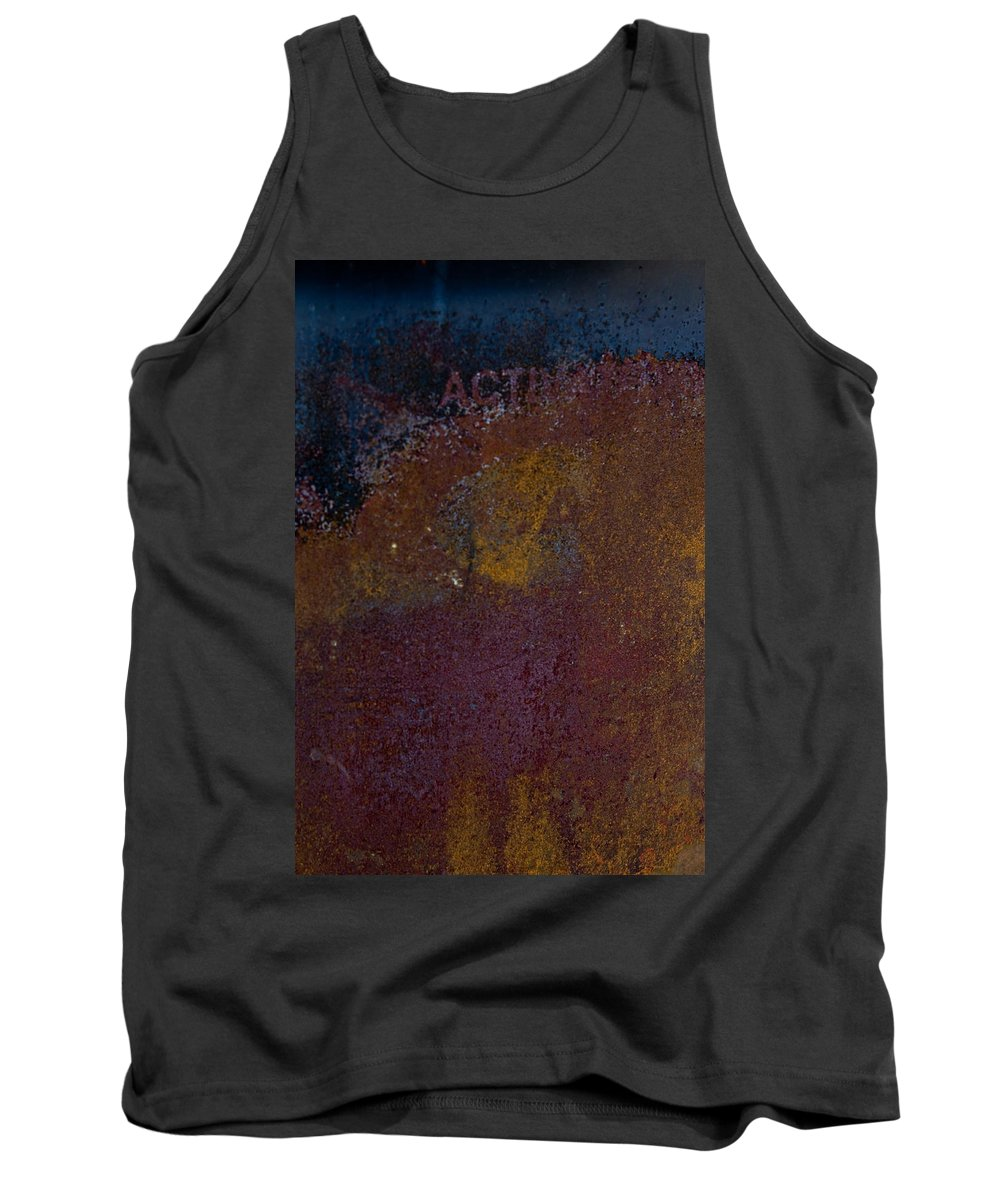 Rust Tank Top featuring the photograph Rusted by Hannah Breidenbach