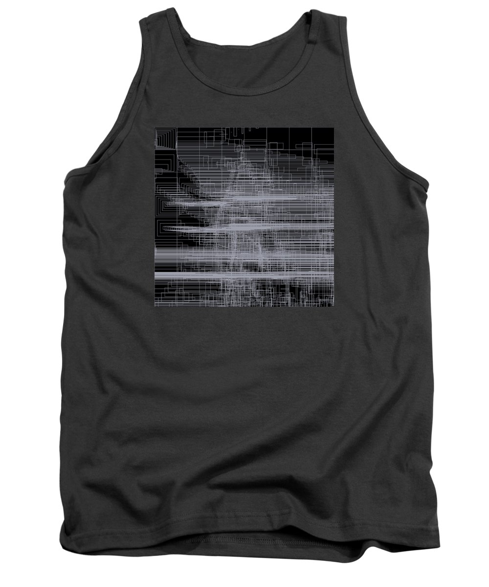 Abstract Tank Top featuring the digital art S.2.34 by Gareth Lewis