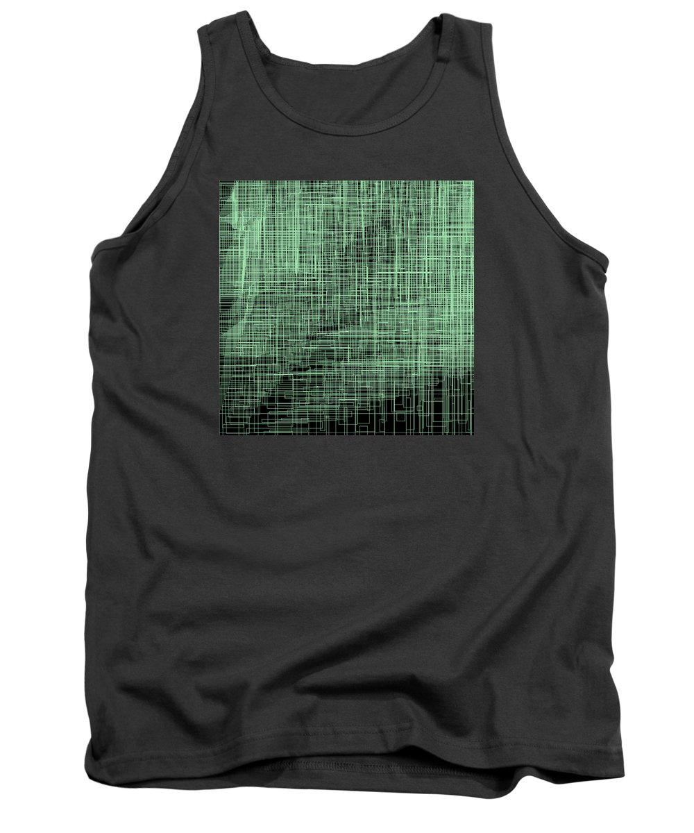 Abstract Tank Top featuring the digital art S.2.47 by Gareth Lewis