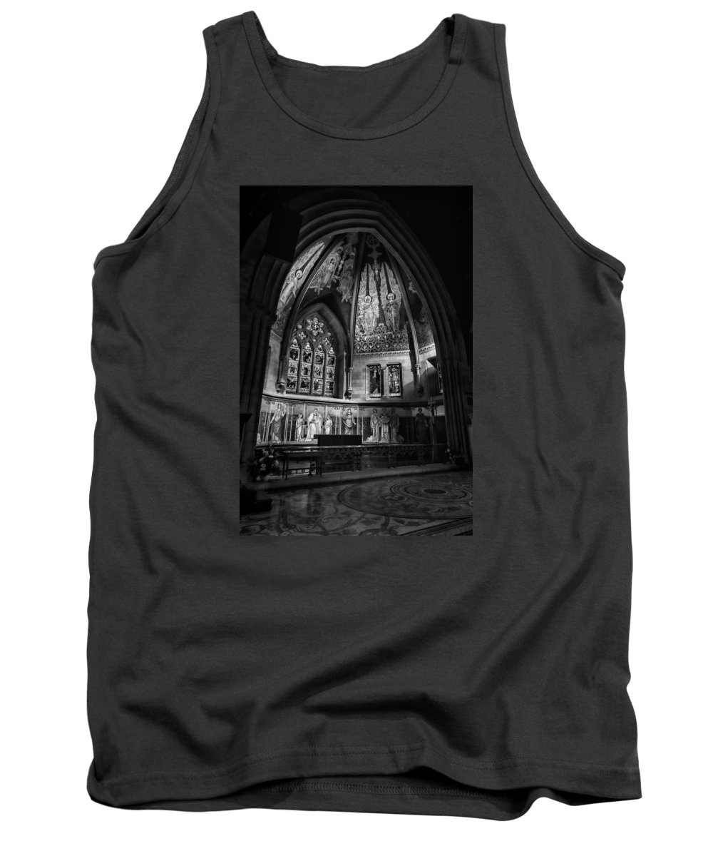 Sage Chapel Tank Top featuring the photograph Sage Chapel Altar by Stephen Stookey