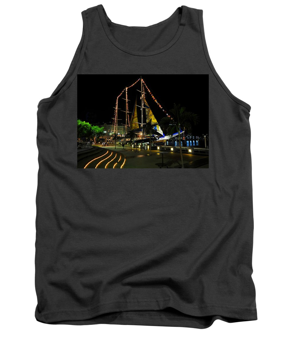 Sail Tampa Bay 2010 Tank Top featuring the photograph Sail Tampa Bay 2010 by David Lee Thompson