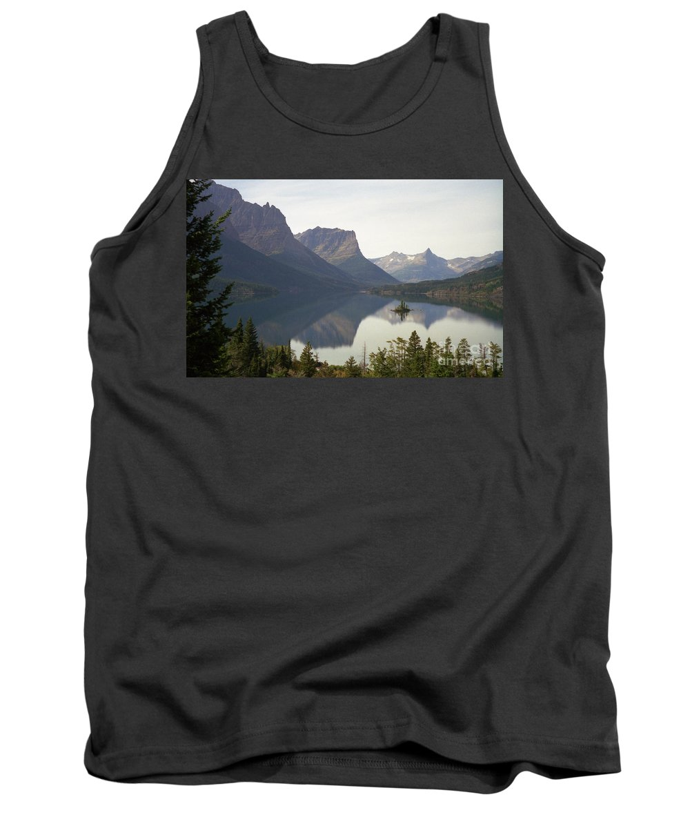 Lake Tank Top featuring the photograph Saint Marys Lake by Richard Rizzo