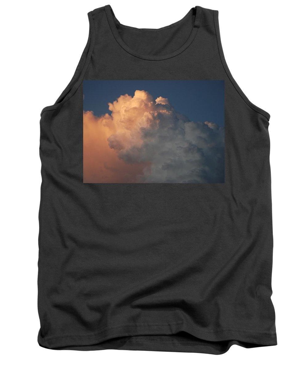 Clouds Tank Top featuring the photograph Salmon Sky by Rob Hans