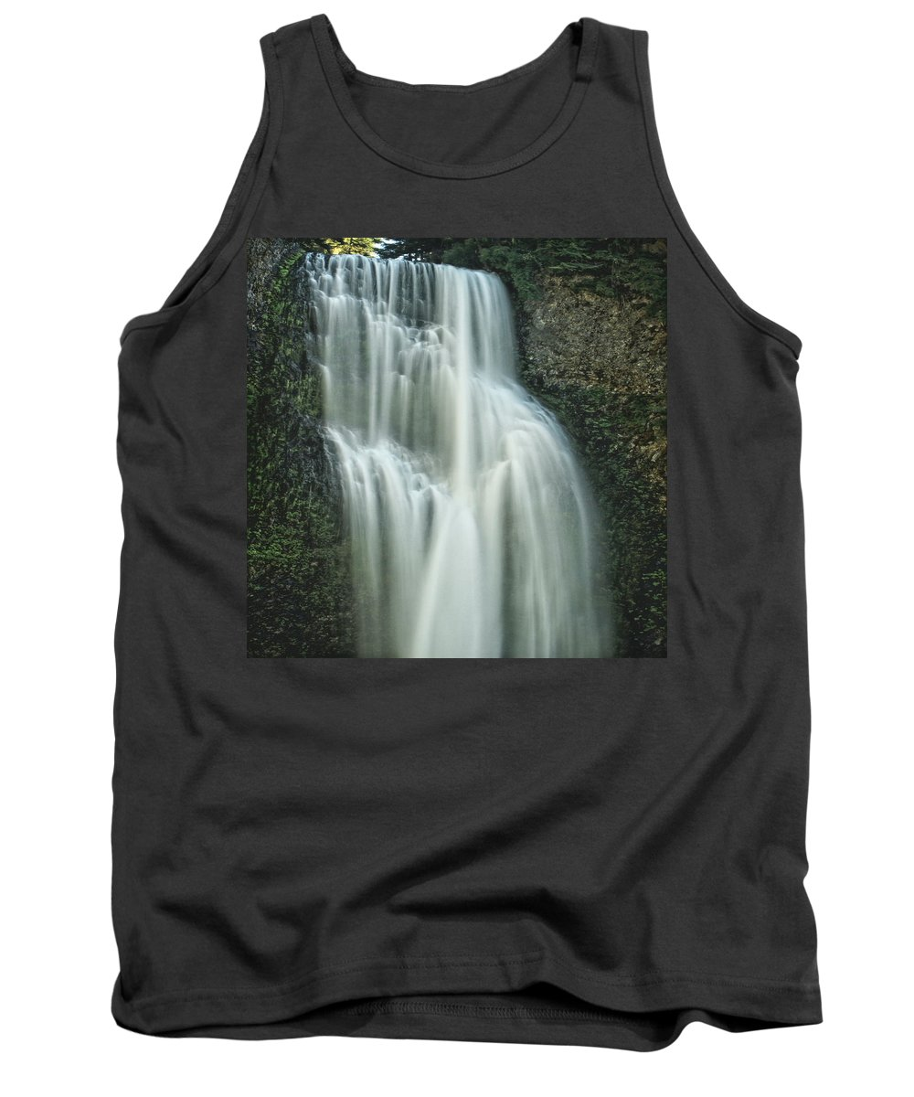 Columbia Gorge Tank Top featuring the photograph Salt Creek Falls by Ingrid Smith-Johnsen