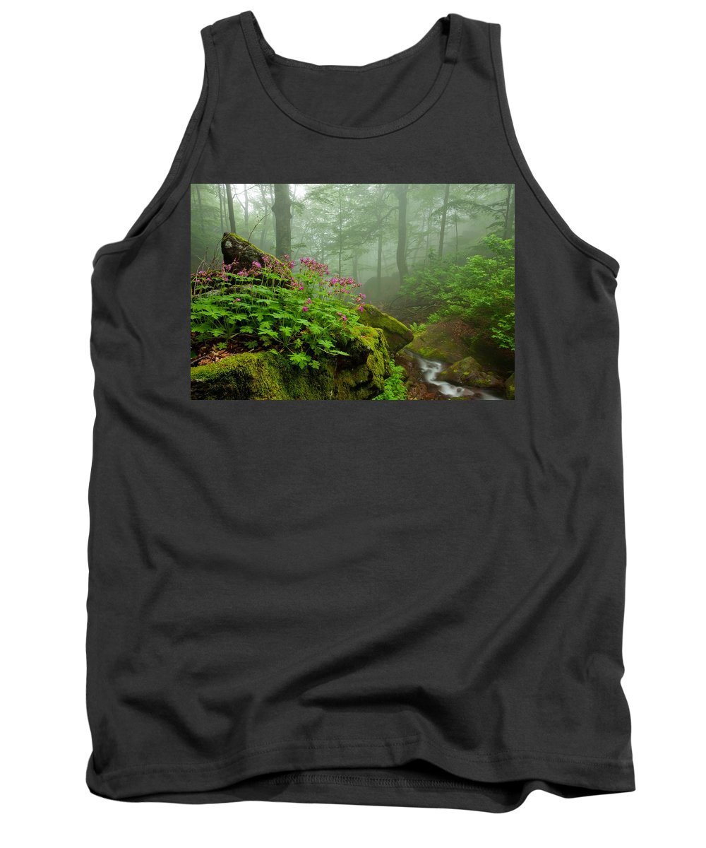 Geranium Tank Top featuring the photograph Scent Of Spring by Evgeni Dinev