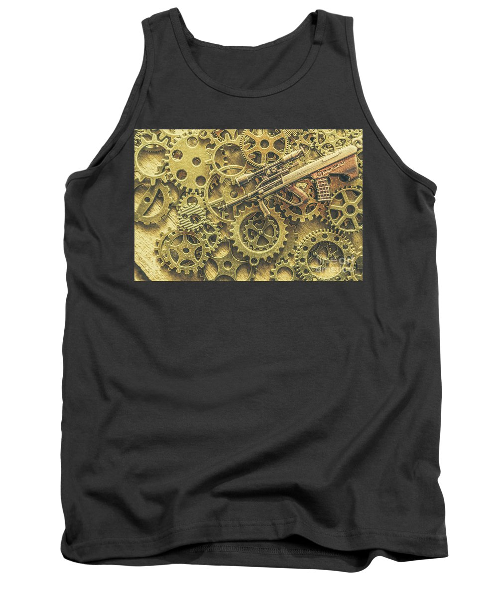 Special Tank Top featuring the photograph Scope Of Special Forces by Jorgo Photography - Wall Art Gallery
