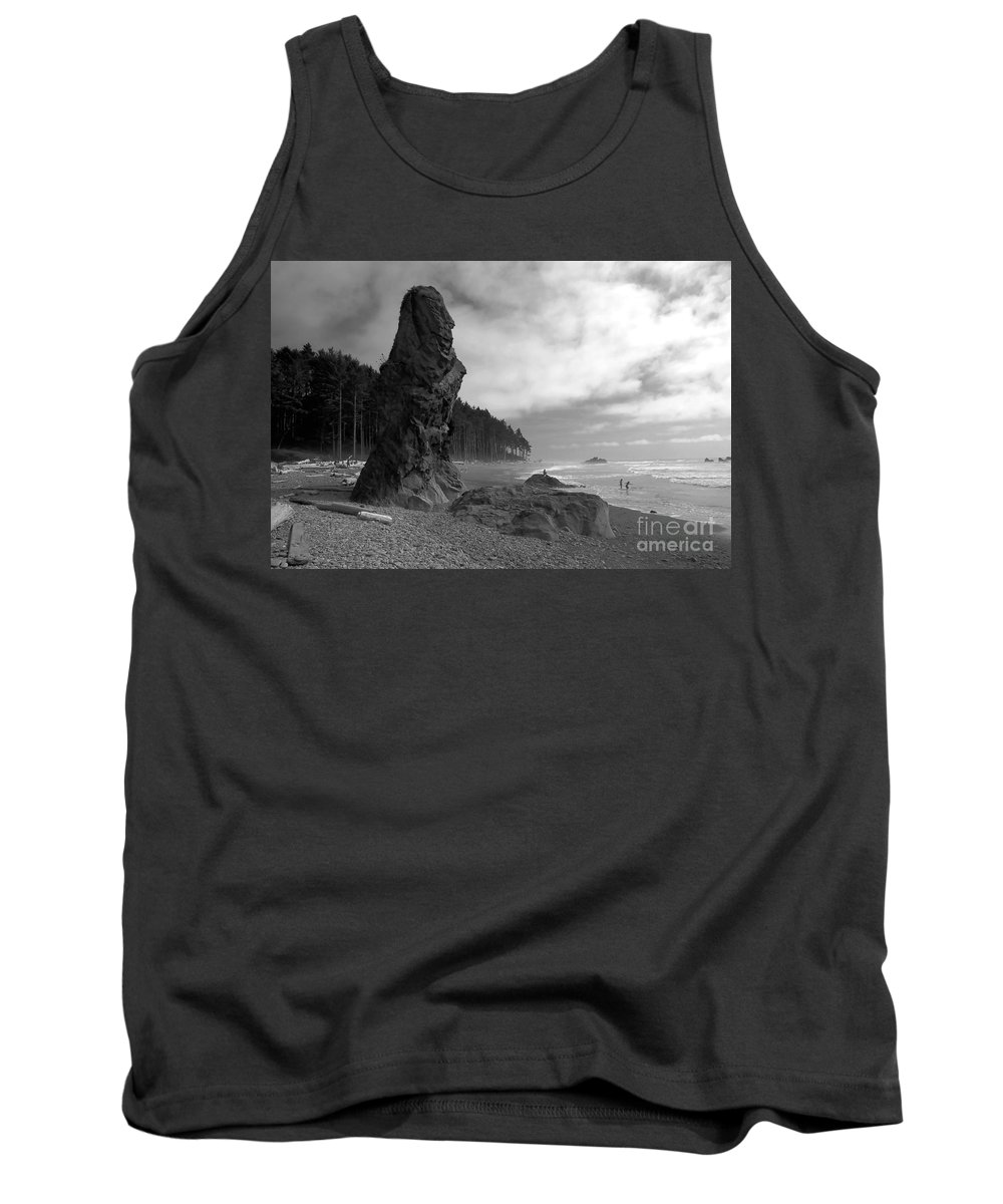 Sea Stack Tank Top featuring the photograph Sea Stack by David Lee Thompson