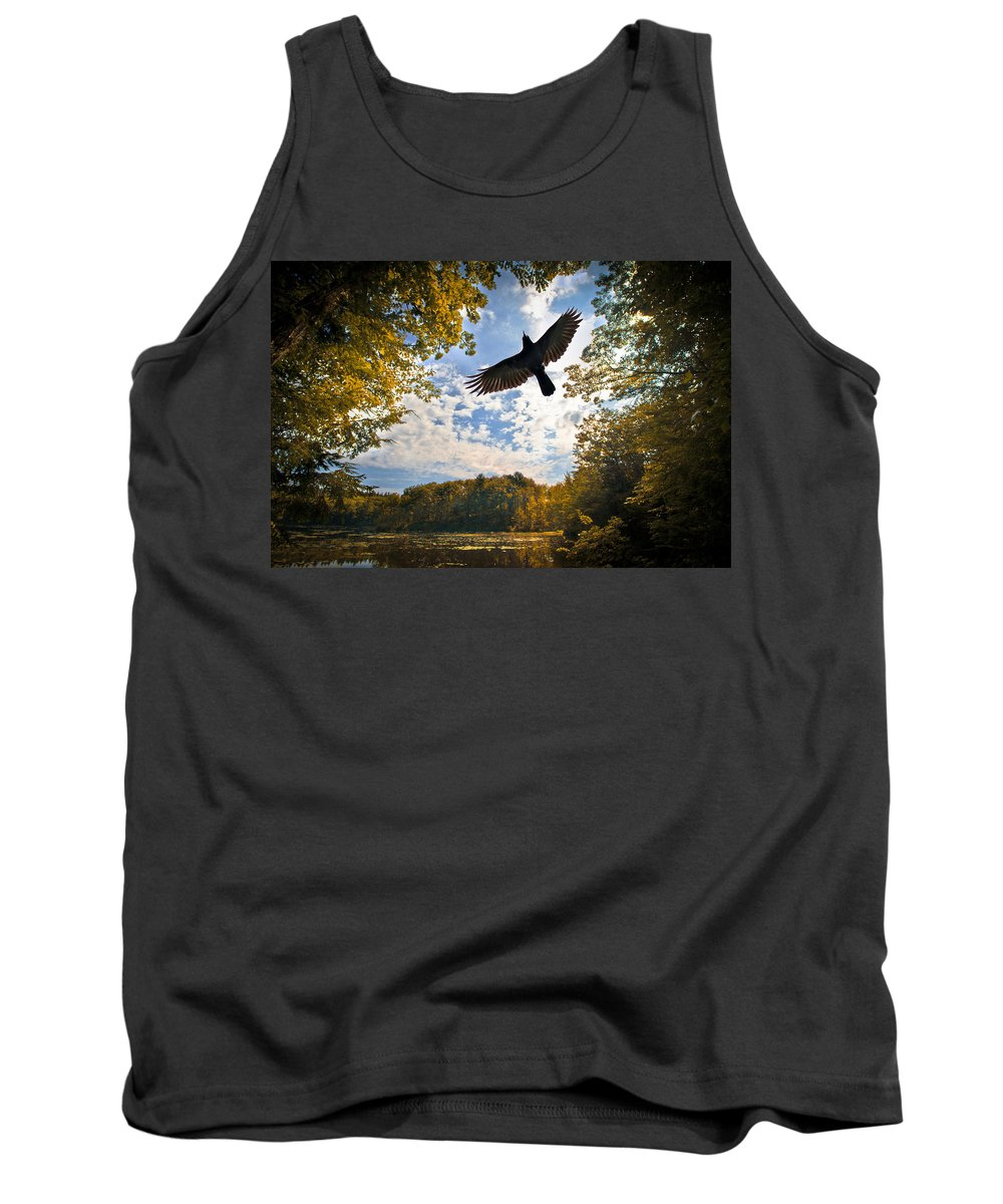 Landscape Tank Top featuring the photograph Season Of Change by Bob Orsillo