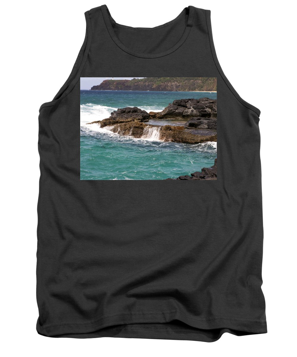 Beach Tank Top featuring the photograph Secret Beach by Amy Fose