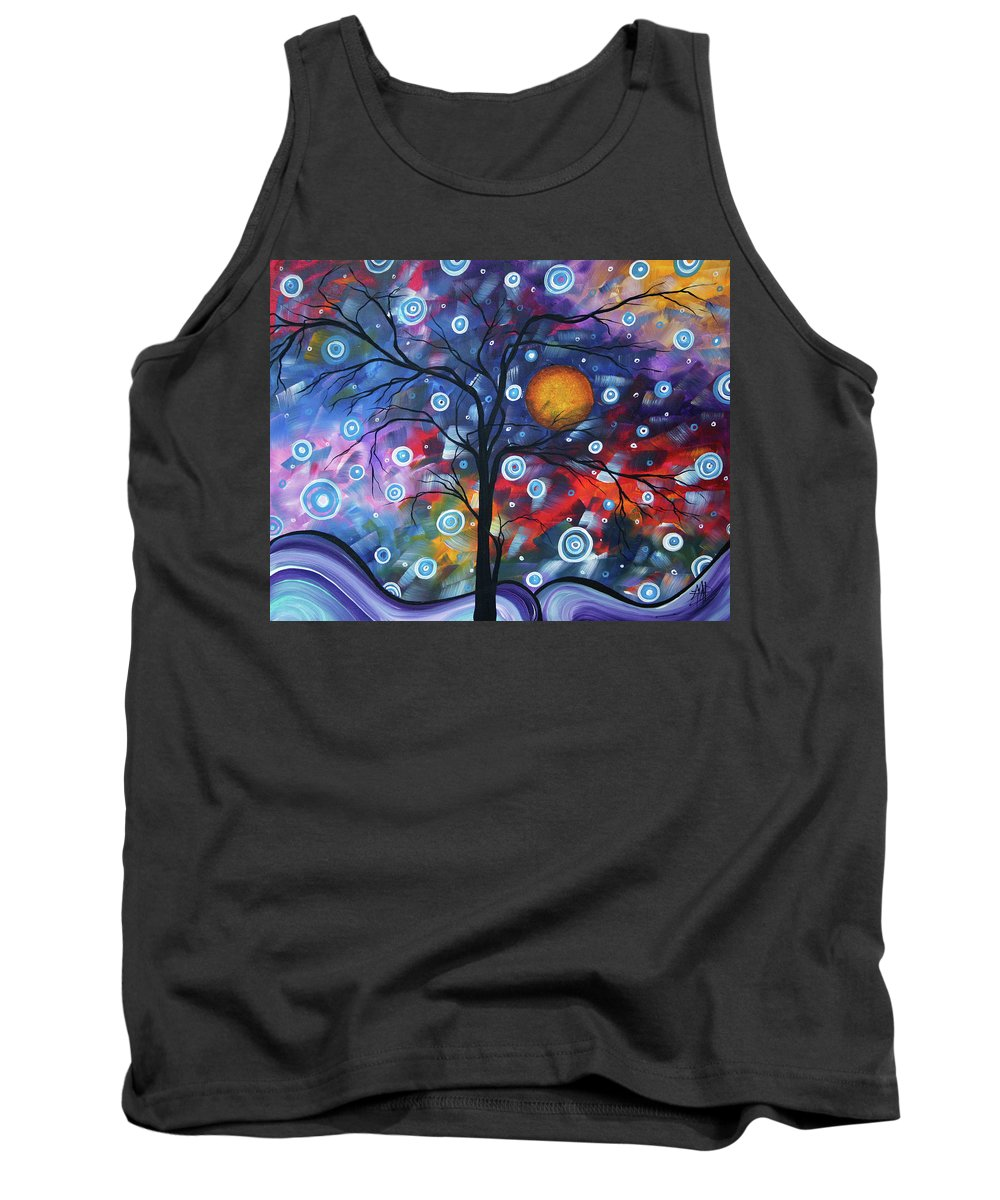 112310 Tank Top featuring the painting See The Beauty by Megan Duncanson