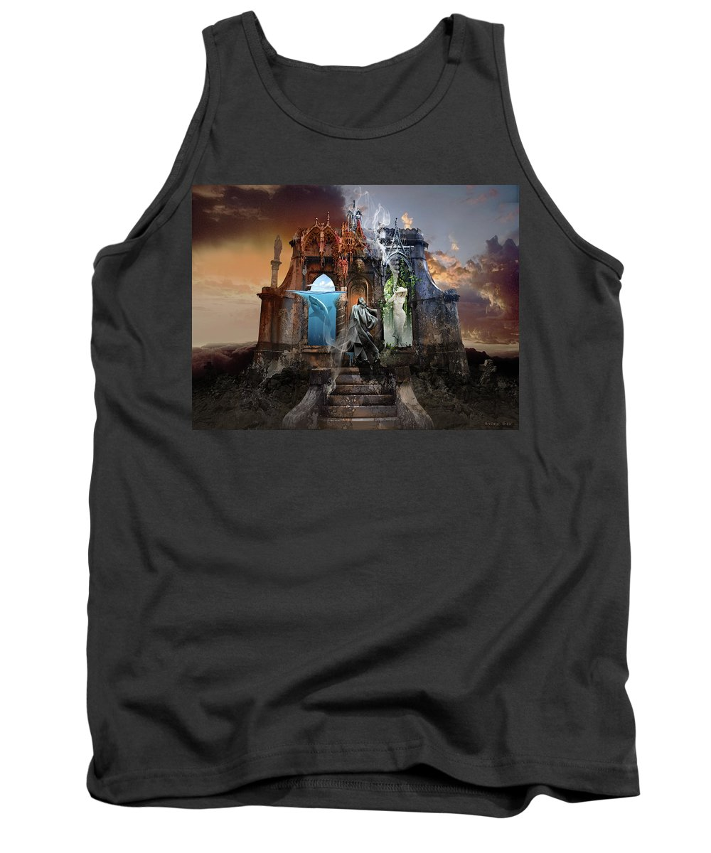Life Tank Top featuring the digital art Self Reincarnation by George Grie
