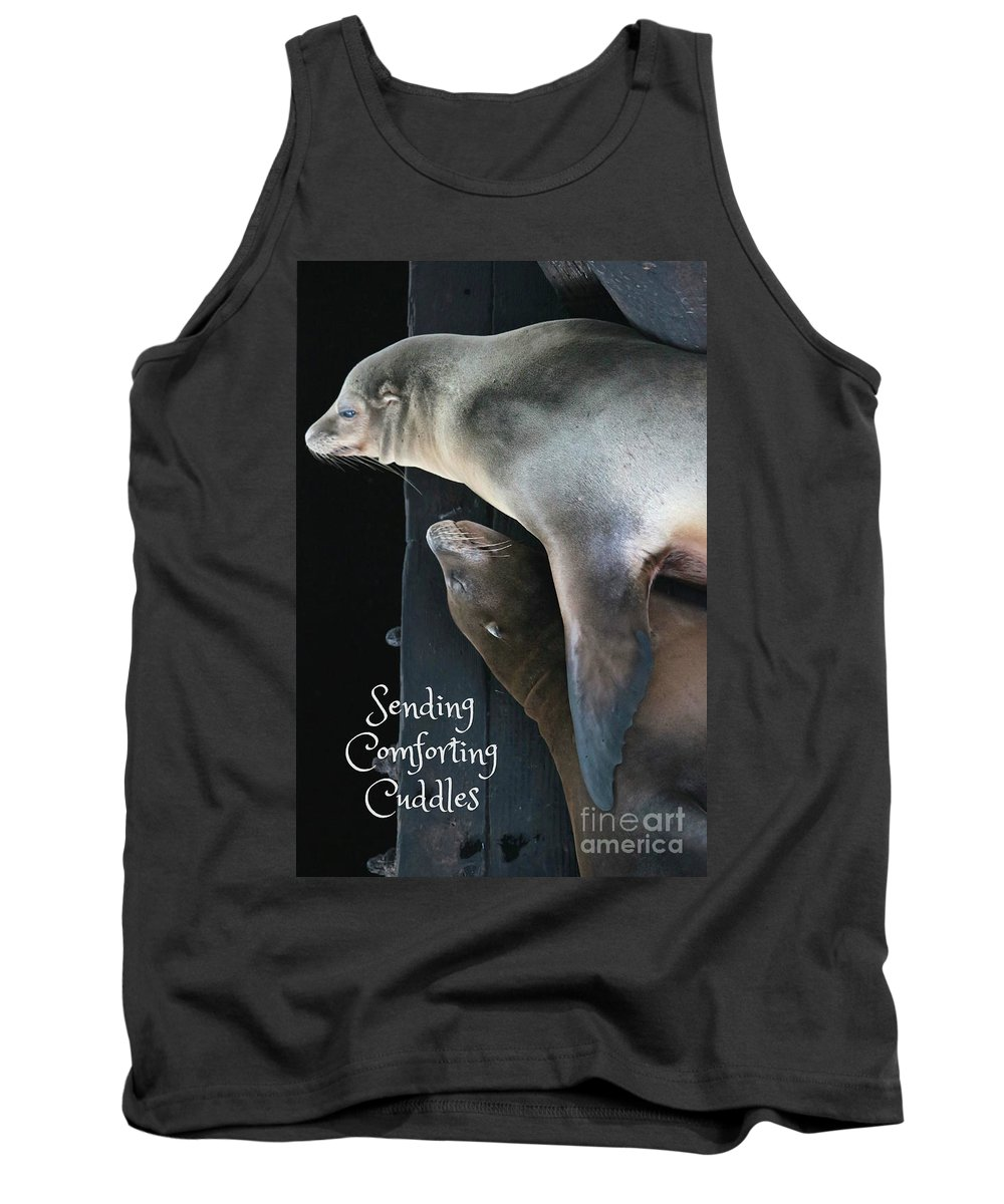 Comforting Tank Top featuring the photograph Sending Comforting Cuddles by Carol Groenen