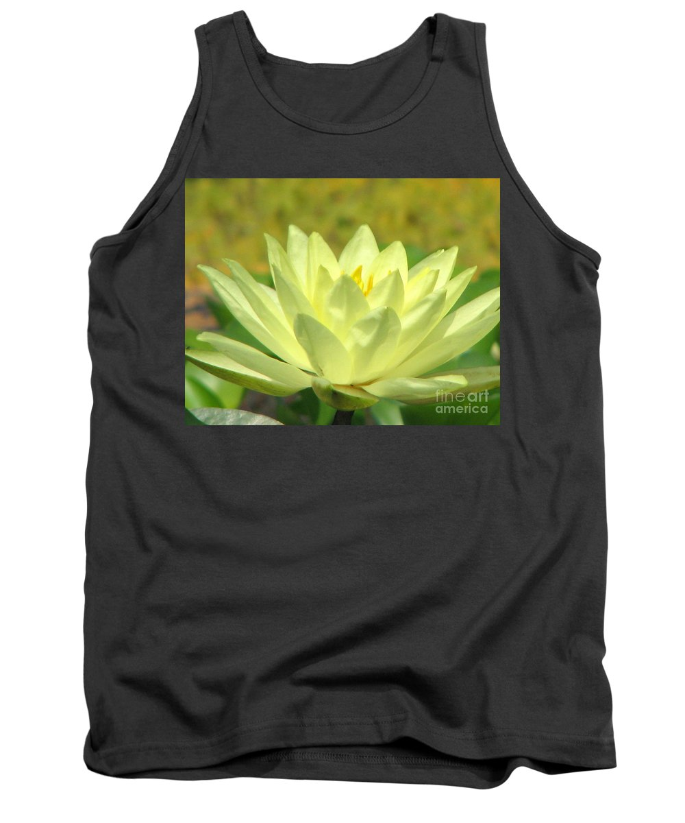 Lillypad Tank Top featuring the photograph Shades by Amanda Barcon