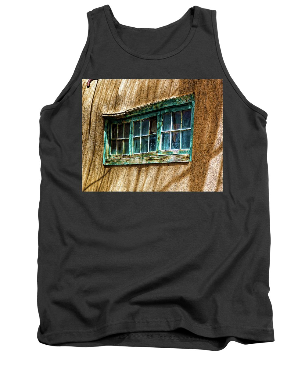 Adobe Tank Top featuring the photograph Shadows Of Taos by Terry Fiala