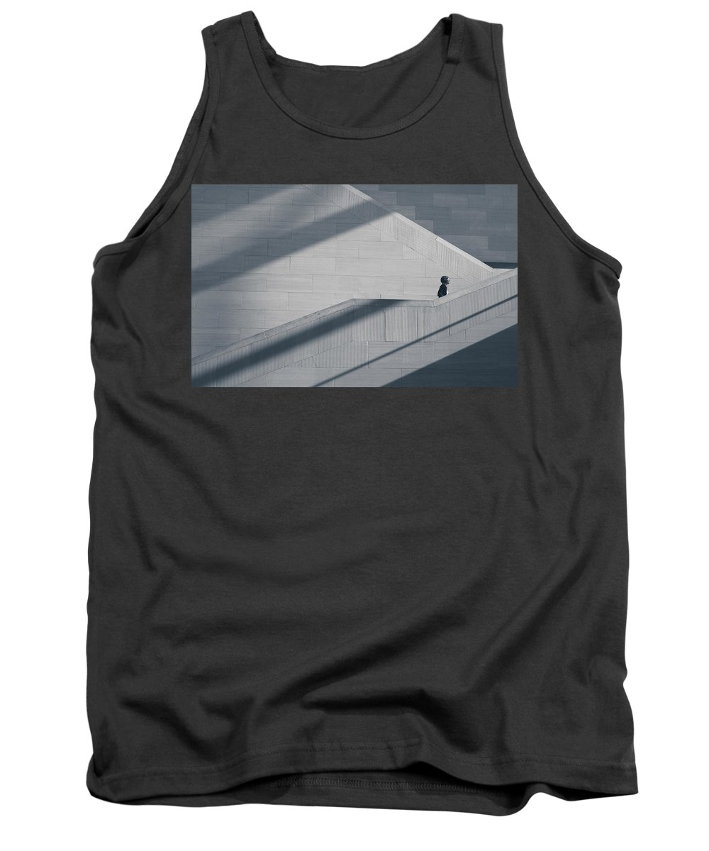 Shadows Tank Top featuring the photograph Shadows by Steve Williams