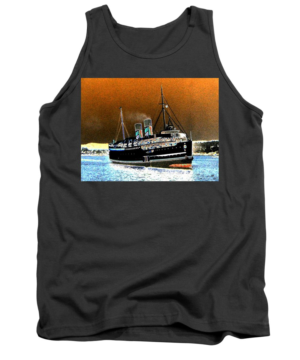 Princess Marguerite Tank Top featuring the digital art Shipshape 4 by Will Borden