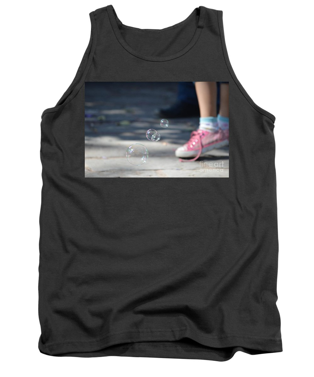 Shoelace Tank Top featuring the photograph Shoelace In Springtime by Brian Boyle