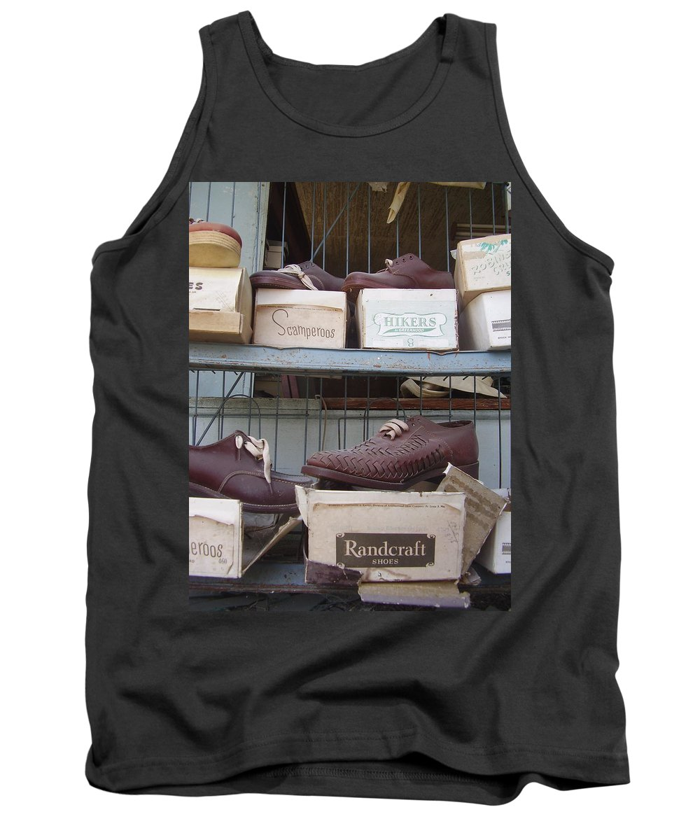 Shoes Tank Top featuring the photograph Shoes by Flavia Westerwelle