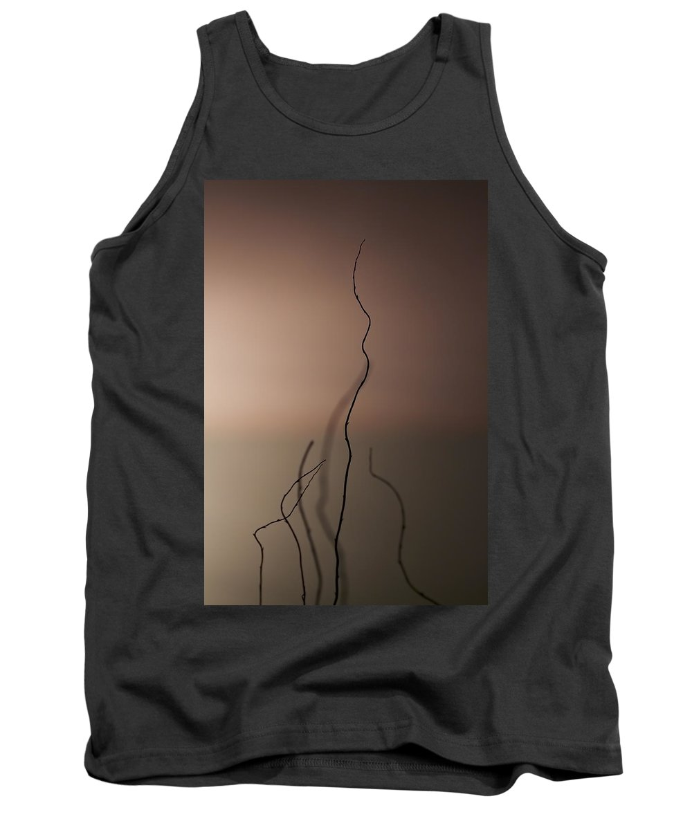 Stick Tank Top featuring the photograph Silence by Evelina Kremsdorf